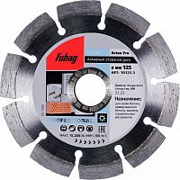 Отрезной диск по бетону Fubag Beton Pro (10125-3) d=125мм d(посад.)=22.23мм (угловые шлифмашины)