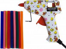Клеевой пистолет Rexant 12-0112 15Вт 10гр/мин стерж.:7мм