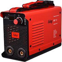 Сварочный аппарат Fubag IR 160 инвертор ММА DC 6.1кВт