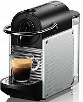 Кофемашина Delonghi Nespresso Pixie EN124.S 1260Вт серебристый