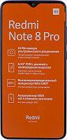 "Смартфон Xiaomi Redmi Note 8 Pro 128Gb 6Gb синий моноблок 3G 4G 2Sim 6.53"" 1080x2340 Android 9.0 64Mpix 802.11 a/b/g/n/ac NFC GPS GSM900/1800 GSM1900 MP3 FM A-GPS microSD max256Gb"
