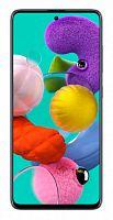 "Смартфон Samsung SM-A515F Galaxy A51 128Gb 6Gb черный моноблок 3G 4G 2Sim 6.5"" 1080x2400 Android 10 48Mpix 802.11 a/b/g/n/ac NFC GPS GSM900/1800 GSM1900 TouchSc MP3 microSD max512Gb"