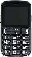 """Мобильный телефон BQ 2441 Comfort 32Mb черный/серебристый моноблок 2Sim 2.4"""" 240x320 0.08Mpix GSM900/1800 GSM1900 MP3 FM microSD max16Gb"""