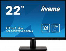 """Монитор Iiyama 21.5"""" ProLite XU2294HSU-B1 черный VA LED 16:9 HDMI M/M матовая 250cd 178гр/178гр 1920x1080 D-Sub DisplayPort FHD USB 3кг"""