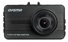 Видеорегистратор Digma FreeDrive 207 DUAL Night FHD черный 2Mpix 1080x1920 1080p 150гр. GP2247