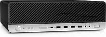 ПК HP EliteDesk 800 G5 SFF i5 9500 (3)/8Gb/SSD256Gb/UHDG 630/DVDRW/CR/Windows 10 Professional 64/GbitEth/250W/клавиатура/мышь/черный