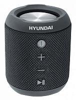 Колонка порт. Hyundai H-PAC300 черный 7W 1.0 BT/3.5Jack/USB 10м 2200mAh
