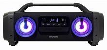 Аудиомагнитола Hyundai H-PCD400 черный 28Вт/MP3/FM(dig)/USB/BT/microSD