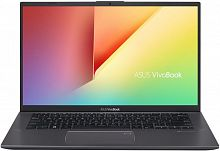 "Ноутбук Asus VivoBook X412FA-EB487T Core i5 8265U/8Gb/SSD256Gb/Intel UHD Graphics 620/14""/IPS/FHD (1920x1080)/Windows 10/grey/WiFi/BT/Cam"