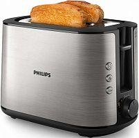 Тостер Philips HD2650 950Вт серебристый