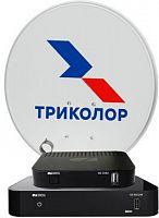 """Комплект спутникового телевидения Триколор GS B534М и GS C592 """"Сибирь"""" (комплект на 2 ТВ) черный"""
