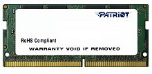Память DDR4 8Gb 2666MHz Patriot PSD48G266682S RTL PC3-21300 CL19 SO-DIMM 260-pin 1.2В single rank