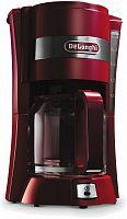Кофеварка капельная Delonghi ICM15210.1R 900Вт красный