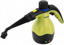 Пароочиститель ручной Kitfort KT-950 1000Вт черный/желтый