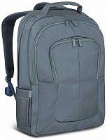 """Рюкзак для ноутбука 17.3"""" Riva 8460 темно-синий полиэстер"""
