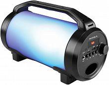 Аудиомагнитола Supra BTS-655 черный 15Вт/MP3/FM(dig)/USB/BT/microSD