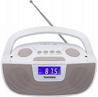Аудиомагнитола Telefunken TF-SRP3469 белый 2Вт/MP3/FM(dig)/USB/SD/MMC