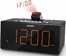 Радиоприемник настольный Telefunken TF-1542 черный/оранжевый