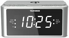 Радиоприемник настольный Telefunken TF-1595U серебристый