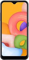"Смартфон Samsung SM-A015F Galaxy A01 16Gb 2Gb черный моноблок 3G 4G 2Sim 5.7"" 720x1520 Android 10 13Mpix 802.11 b/g/n GPS GSM900/1800 GSM1900 TouchSc MP3 microSD max512Gb"