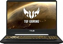 "Ноутбук Asus TUF Gaming FX505DT-BQ140T Ryzen 7 3750H/8Gb/SSD512Gb/nVidia GeForce GTX 1650 4Gb/15.6""/IPS/FHD (1920x1080)/Windows 10/dk.grey/WiFi/BT/Cam"
