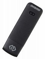 Модем 3G/4G Digma Dongle DW1961 USB Wi-Fi Firewall +Router внешний черный