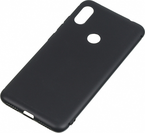Чехол (клип-кейс) BoraSCO для Xiaomi Redmi Note 6 Pro BoraSco Mate черный (37604)