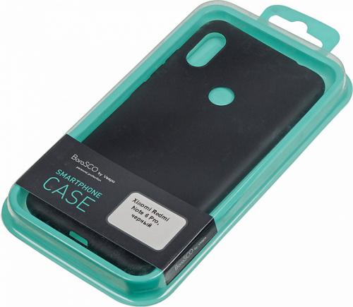 Чехол (клип-кейс) BoraSCO для Xiaomi Redmi Note 6 Pro BoraSco Mate черный (37604) фото 3