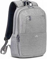 """Рюкзак для ноутбука 15.6"""" Riva 7760 серый полиэстер"""