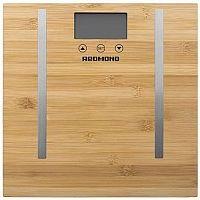 Весы напольные электронные Redmond RS-746 макс.150кг бамбук