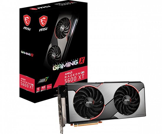 MSI Radeon RX 5600XT GAMING X: новая видеокарта с процессором от старшего собрата