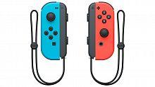 Беспроводной контроллер Nintendo Joy-Con красный/синий для: Nintendo Switch