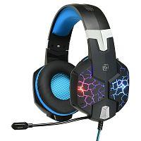Наушники с микрофоном Оклик HS-L930G SNORTER черный 2м мониторные USB оголовье (HS-L930G)
