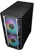 Корпус Formula V-LINE W03M черный без БП ATX 6x120mm 5x140mm 2xUSB2.0 2xUSB3.0 audio bott PSU