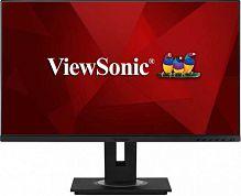 "Монитор ViewSonic 27"" VG2755 черный IPS LED 16:9 HDMI M/M матовая HAS Pivot 250cd 178гр/178гр 1920x1080 D-Sub DisplayPort FHD USB 7.5кг"