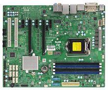 Материнская Плата SuperMicro MBD-X11SAE-O Soc-1151 iC236 ATX 4xDDR4 8xSATA3 SATA RAID i210AT 2хGgbEth Ret