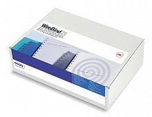 Пружины для переплета металлические GBC d=6мм A4 белый (100шт) MultiBind (IB165085)