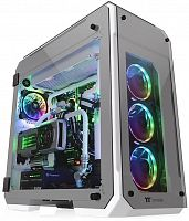 Корпус Thermaltake View 71 TG Snow белый без БП ATX 2x140mm 2xUSB2.0 2xUSB3.0 audio bott PSU