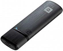 Сетевой адаптер WiFi D-Link DWA-182/RU/E1A USB 3.0 (ант.внутр.) 1ант.