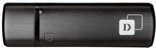 Сетевой адаптер WiFi D-Link DWA-182/RU/E1A USB 3.0 (ант.внутр.) 1ант. фото 2