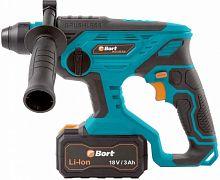 Перфоратор Bort BHD-18X-BLK патрон:SDS-plus уд.:1.7Дж аккум. (кейс в комплекте)