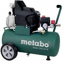 Компрессор поршневой Metabo Basic 250-24 W масляный 110л/мин 24л 1500Вт зеленый