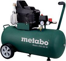 Компрессор поршневой Metabo Basic 250-50 W масляный 110л/мин 50л 1500Вт зеленый