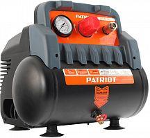 Компрессор поршневой Patriot WO 6-180 безмасляный 180л/мин 6л 1100Вт черный/оранжевый