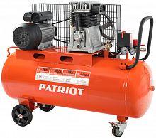 Компрессор поршневой Patriot PTR 100-440I масляный 440л/мин 100л 2200Вт оранжевый