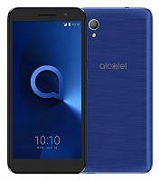 "Смартфон Alcatel 5033D 1 8Gb 1Gb темно-синий моноблок 3G 4G 2Sim 5"" 480x960 Android 8.0 5Mpix WiFi GPS GSM900/1800 GSM1900 MP3 FM A-GPS microSDHC max32Gb"
