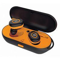 Гарнитура вкладыши Harper HB-510 черный/оранжевый беспроводные bluetooth (в ушной раковине)