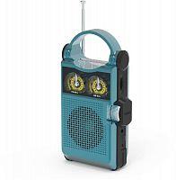 Радиоприемник портативный Ritmix RPR-333 синий/черный USB microSD