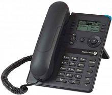 Системный телефон Alcatel-Lucent 8008 черный