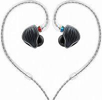 Наушники вкладыши Fiio FH5 1.2м черный проводные (в ушной раковине)